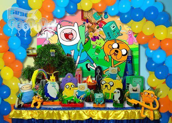 tema-festa-infantil-hora-da-aventura